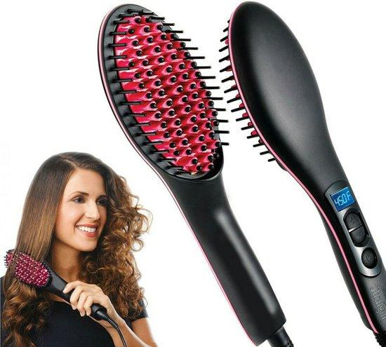 Simply Straight Keramische stijlborstel Haarstyler