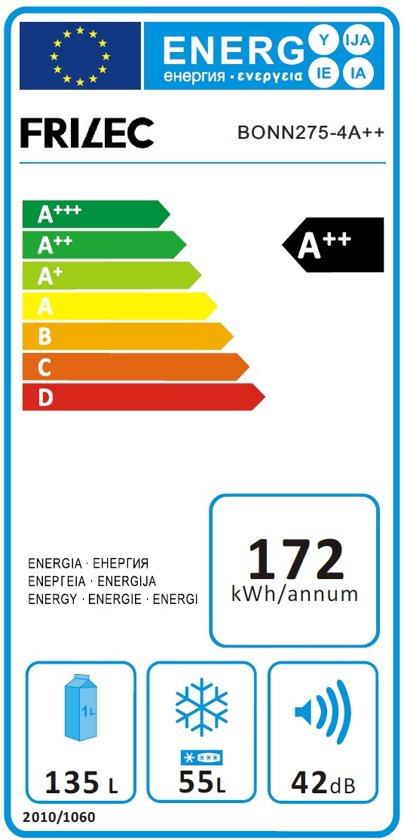 Frilec BONN275-4A++INOX