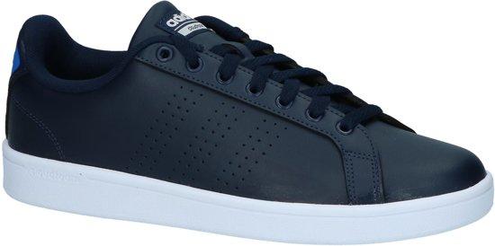 Adidas - Cf Advantage Cl - Sneaker laag sportief - Heren - Maat 42,5 -  Blauw;Blauwe - Collegiate Navy
