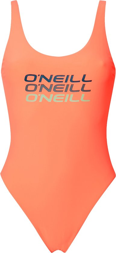 5fff8c1fa3bf5c bol.com | O'Neill Badpak Logo tripple - Neon Peach - 34
