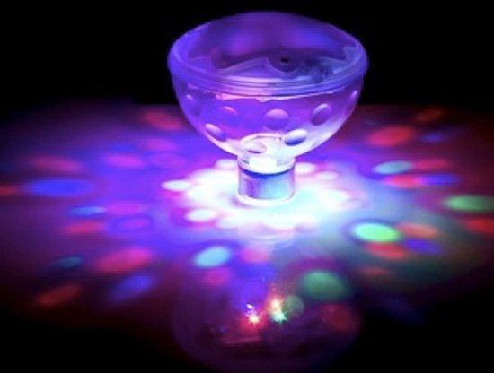 Onder Water Lamp / Lichtshow - Underwater Lightshow - ø 8,5 cm.