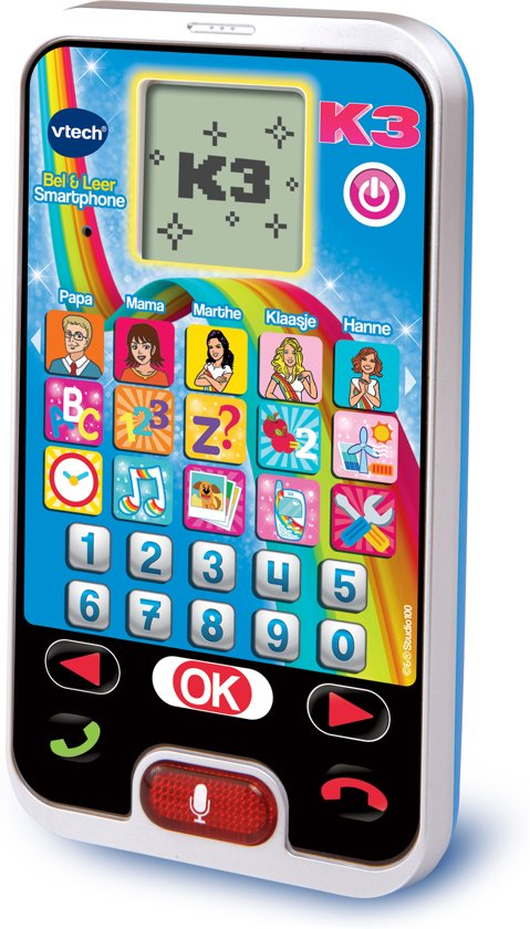 Afbeelding van VTech Preschool K3 Bel & Leer Smartphone - Speelgoedtelefoon speelgoed