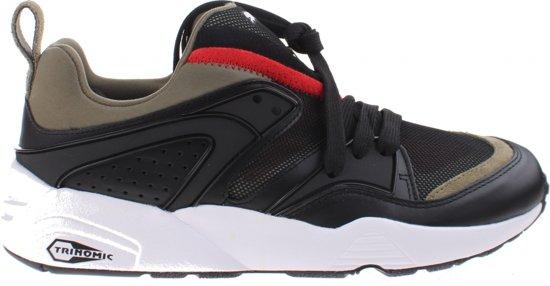 Pumas Sneakers Flamme Noir / Vert Bloc De Rue Gloire 44 Mt SGTsvHly