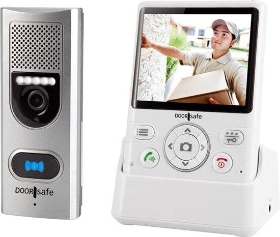 Draadloze Deurbel Met Camera.Draadloze Camera Deurbel 3 5 Kleurenscherm Doorsafe 4110