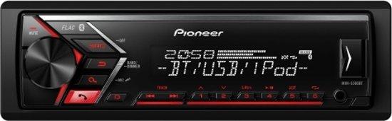 Pioneer MVH-S300BT 200W - Autoradio met Bluetooth, USB en Aux