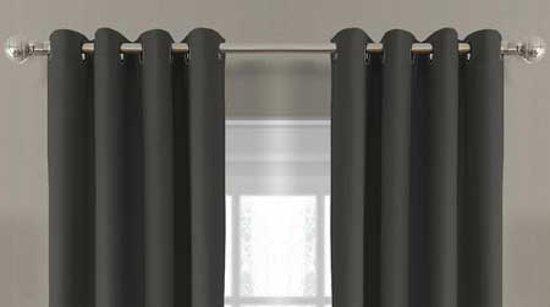 bol.com | Larson - Luxe verduisterende gordijnen 150x250 cm ringen ...