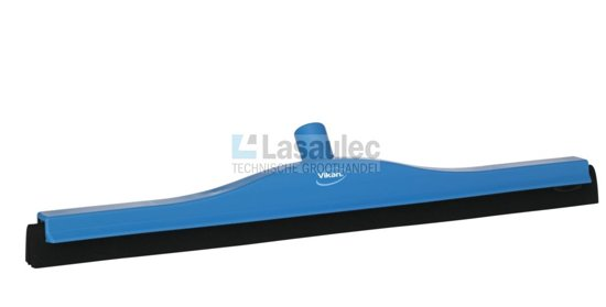 Klassieke vloertrekker vaste nek 60 cm breed polypropyleen zwarte verwisselbare cassette diverse breedtes max. 100° C.