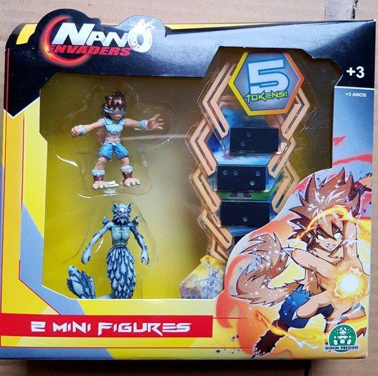 Nano Invaders 2 Mini figures 5 Tokens