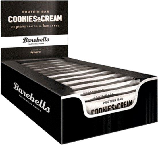 Barebells Protein Bars - Eiwitreep - 1 box (12 eiwitrepen) - Cookies & Cream
