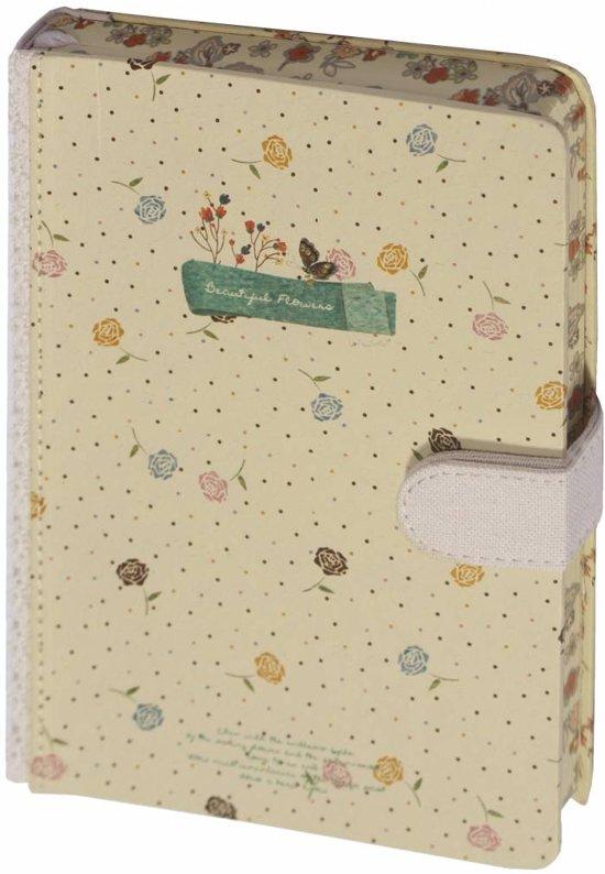 D1356-4 Dreamnotes notitieboek bloemen 13 x 18,5 cm - Roos