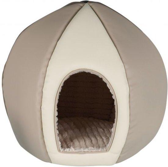 Trixie kattenmand iglo desert bruin / beige 42x42x44 cm
