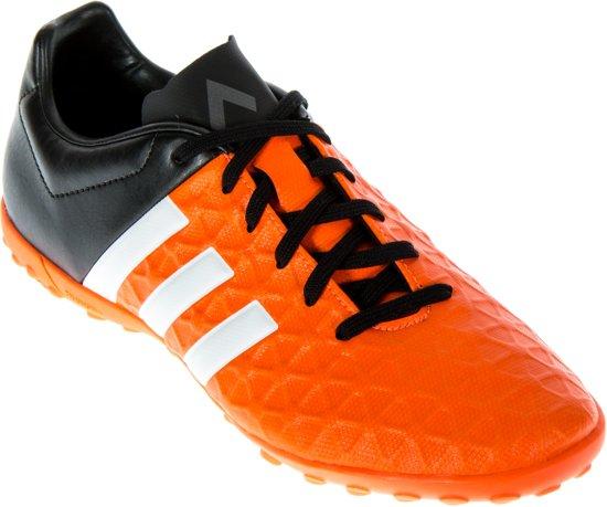a069d008b41 adidas ACE 15.4 TF Turfvoetbalschoenen Heren Voetbalschoenen - Maat 42 -  Unisex - oranje/zwart