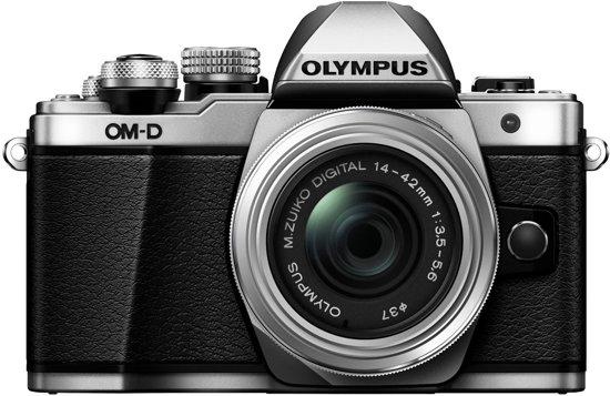 Olympus OM-D E-M10 II Kit zilver + 14-42 R II