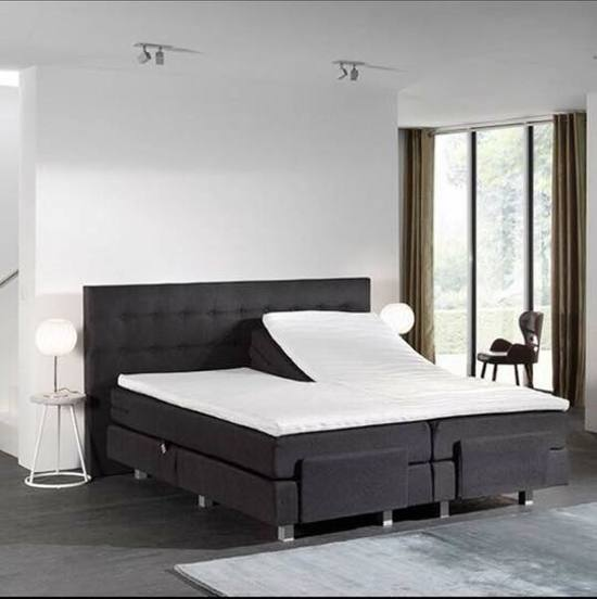 Compleet Bed 180x200.Bol Com Boxspring Elektrisch Compleet Met Koudschuimtopper 180x200