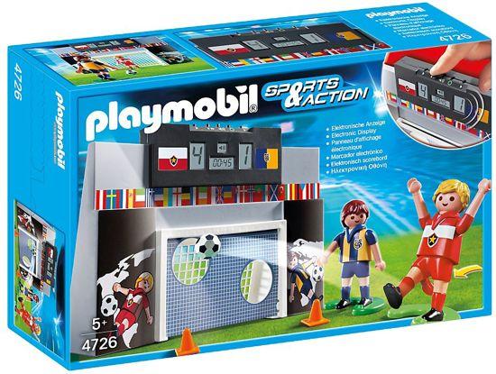 Playmobil Voetbalmuur met spelers - 4726