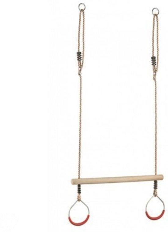 Goede bol.com | Trapeze Schommel met metalen Turnringen, KBT | Speelgoed AG-97