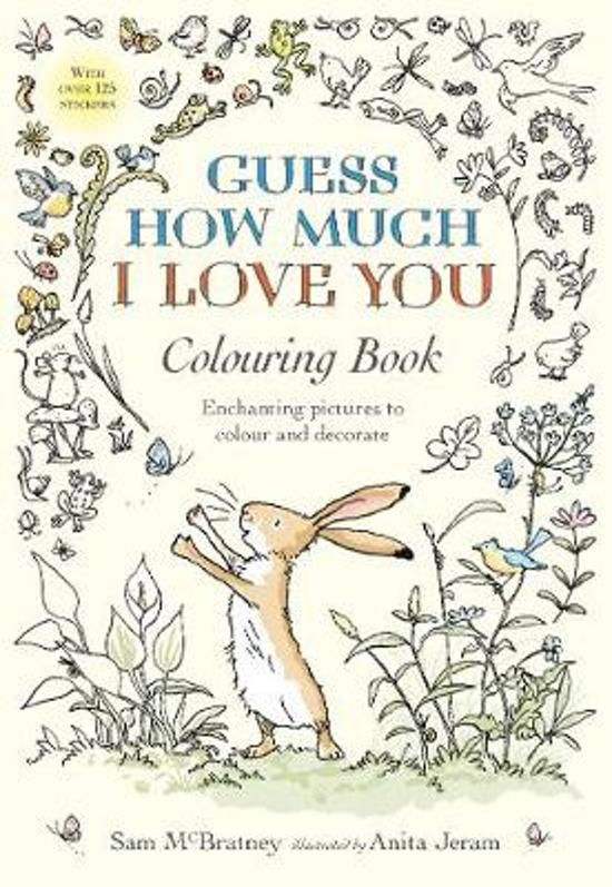 Bolcom Guess How Much I Love You Colouring Book Macbratney