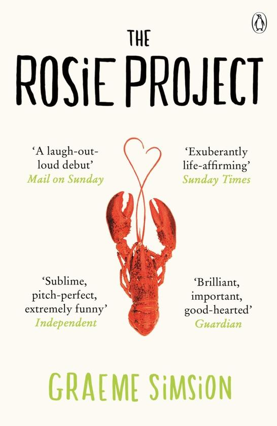 Boek cover The Rosie Project van Graeme Simsion (Onbekend)
