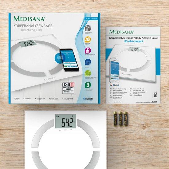 Medisana BS 444 Connect - Lichaamsanalyseweegschaal - Medisana