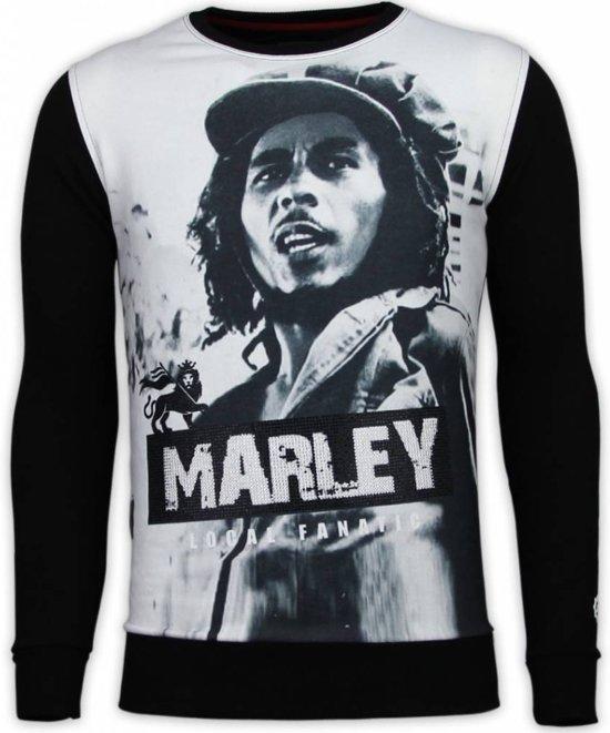 MatenM Rhinestone Zwart Fanatic Sweater MarleyDigital Local Bob 7yYgfb6