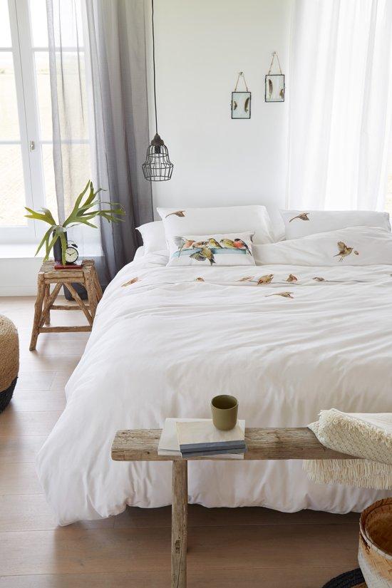 Sierkussens Voor Op Bed.Marjolein Bastin Bullfinch Sierkussen 30x50 Cm Natural
