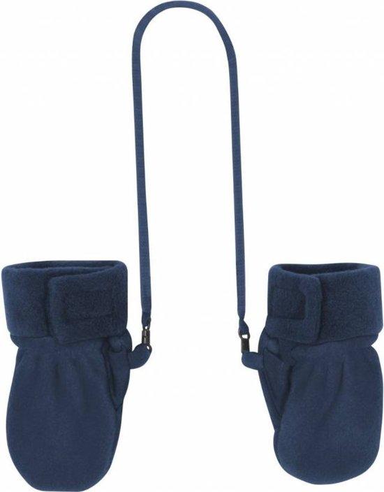 Bolcom Playshoes Fleece Wanten Baby Maat 0 6 Mnd Donkerblauw