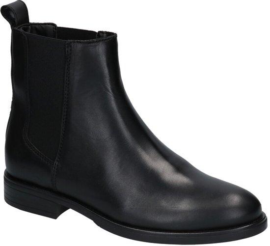 Tommy Hilfiger Dames Chelsea Boots Pin Logo Flat Zwart Maat 41