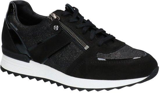 Mephisto Toscane Zwarte Sneakers