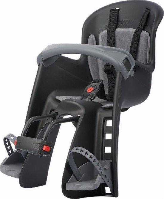 Polisport Bilby - Fietsstoeltje Voor - Zwart