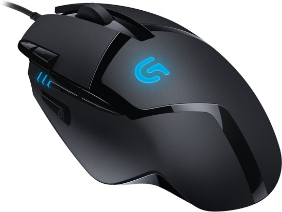 Logitech G402 - Hyperion Fury Gaming Muis - Pc