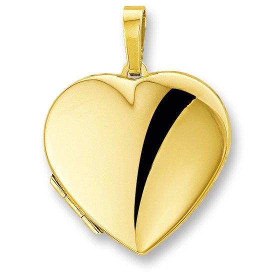 Trendjuwelier huiscollectie 4005803 Gouden medaillon hart