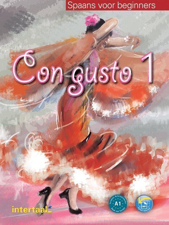Boek cover Con gusto 1 tekstboek + online MP3 van Ivorra e.a. (Onbekend)