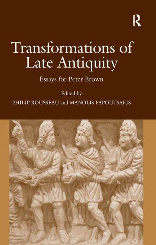 Boek cover Transformations of Late Antiquity van Manolis Papoutsakis (Onbekend)