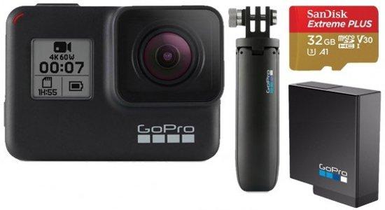 GoPro HERO7 Black - Bundel met extra accessoires