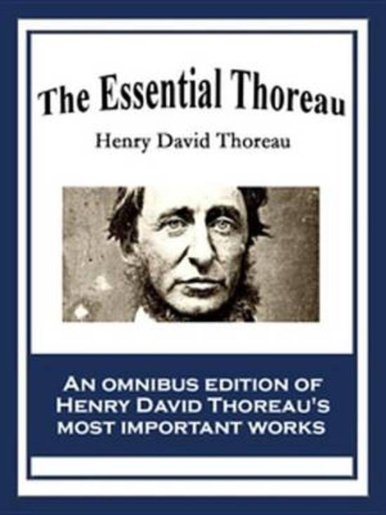 essays written by henry david thoreau