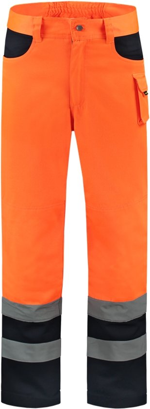 Tricorp worker EN471 bi-color - Workwear - 503002 - fluor oranje / navy - Maat 62