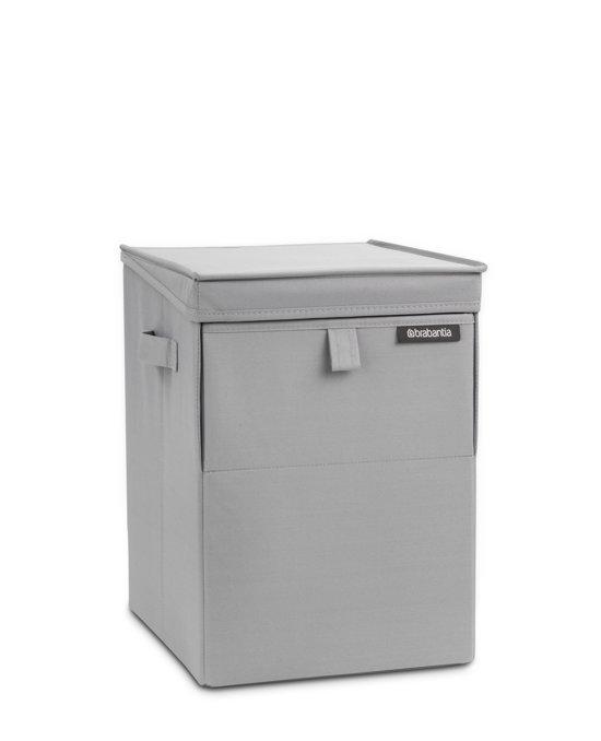 Brabantia Stapelbare Wasmand - 35 l - Cool Grey