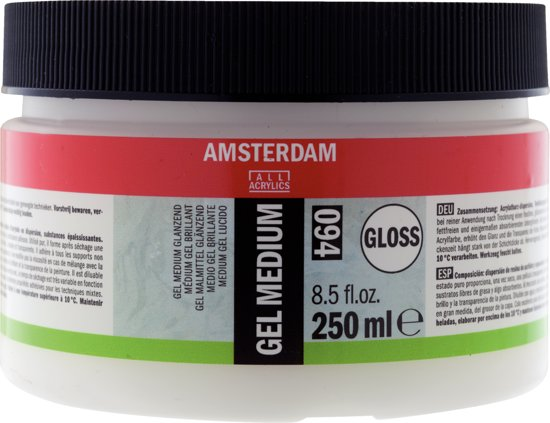 Amsterdam schildermedium flacon 250ml - gel - glanzend