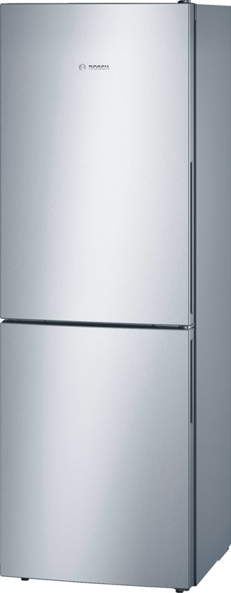 Bosch KGV33VL31 - Serie 4 - Koel-vriescombinatie - RVS look