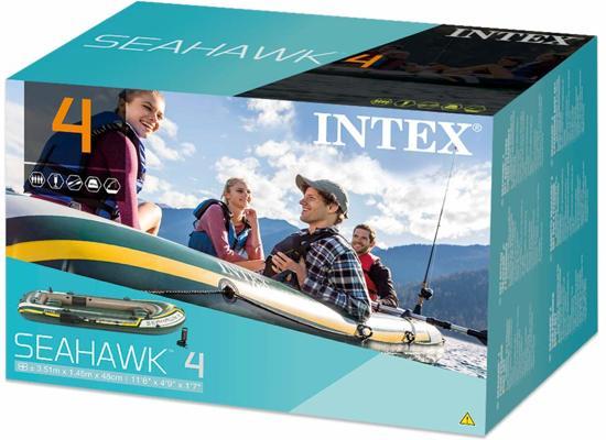 Intex Seahawk 4 - Opblaasboot inclusief Peddels