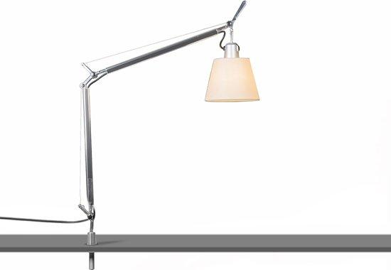 Bol.com artemide tolomeo lamp met klem 1 lichts h 935 mm grijs