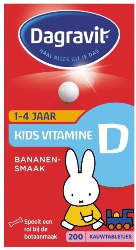 Dagravit  Kids Vitamine D Tabletten - 200 Tabletten