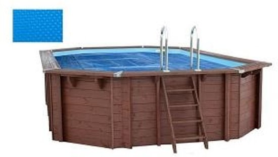 Interline Zwembad Interline zomerafdekking voor houten zwembaden - 6,40 x 4,00