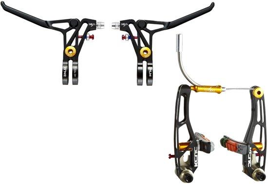 KCNC VB1 V-Brake Set v-brakes zwart