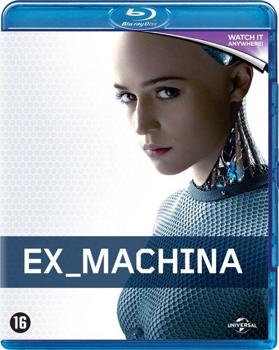 DVD cover van Ex Machina (Blu-ray)