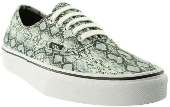 4ad35f940f5 bol.com | Vans Sneakers - Authentic Snake Dames Groen Maat 35