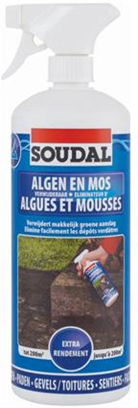 Soudal anti-mos product transparant 1 L