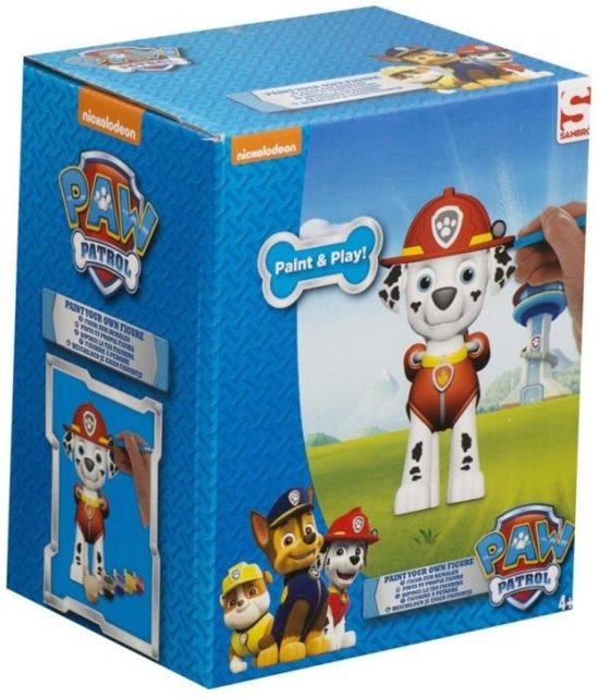 Paw Patrol Paint Your Own Figure - Marshall R