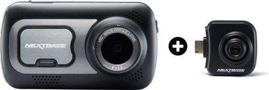 Nextbase - dashcam - 522GW + Rearview camera - zwart