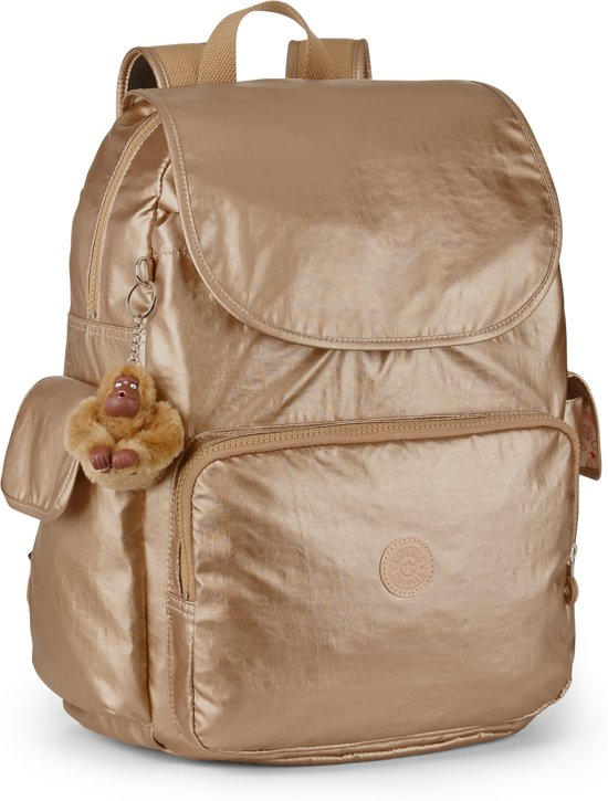 Kipling Baby Backpack L - Rugzak - met verschoningsmatje - Golden Rod